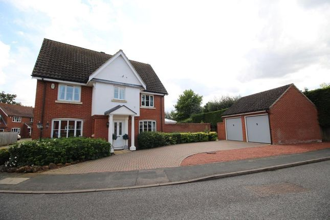 Thumbnail Detached house for sale in Blackthorn Road, South Wootton, King's Lynn