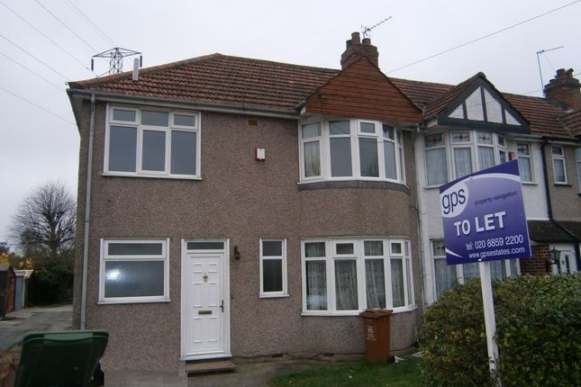 Thumbnail Semi-detached house to rent in Maple Crescent, Sidcup, Kent