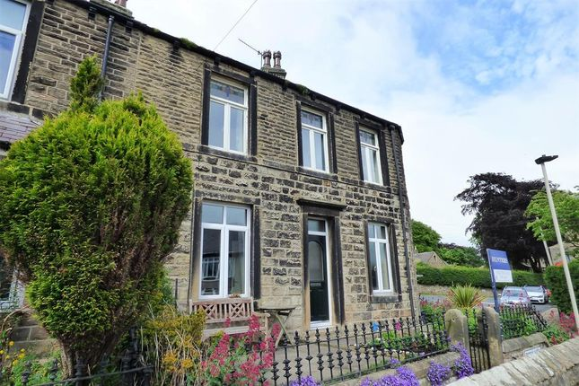 Thumbnail End terrace house for sale in Rock View Terrace, Embsay, Skipton