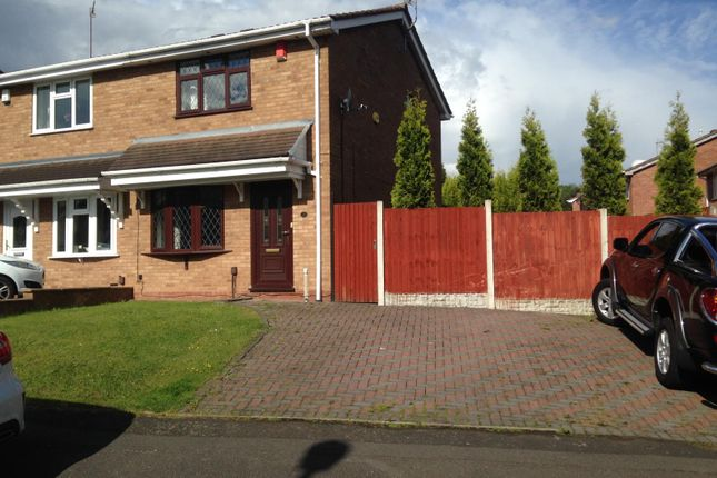 Thumbnail Semi-detached house to rent in 2 Fremont Drive, Dudley