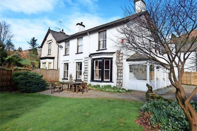 Thumbnail Semi-detached house for sale in Grasmere, Grasmere, Ambleside, Cumbria