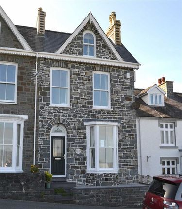 Thumbnail End terrace house for sale in Glanmor Terrace, New Quay, Ceredigion