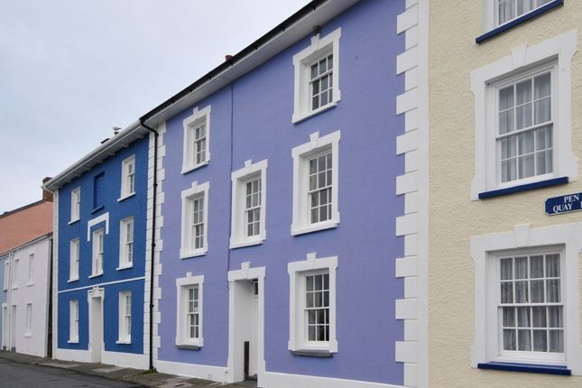 Thumbnail Town house for sale in 11 Quay Parade, Aberaeron, Ceredigion