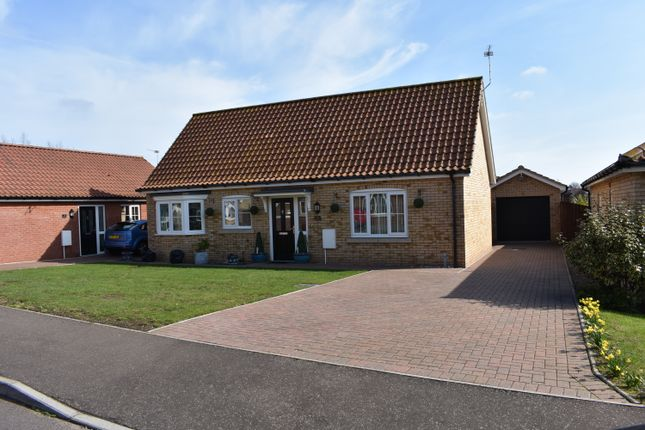 Thumbnail Detached bungalow for sale in Broadland Close, Gorleston, Great Yarmouth