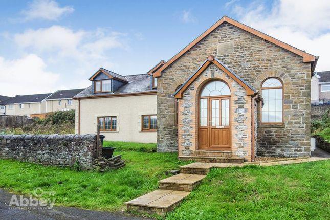 Thumbnail Detached house for sale in Yr Hen Capel, Cimla Common, Cimla, Neath