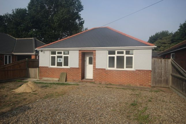 Thumbnail Detached bungalow for sale in Mill Road, Hemsby, Great Yarmouth
