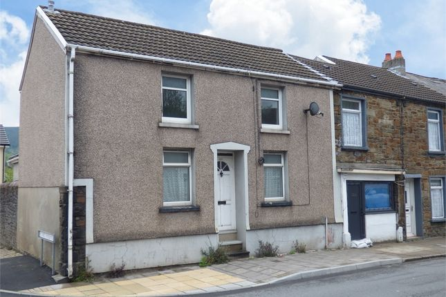 Thumbnail End terrace house for sale in Cardiff Road, Aberdare, Mid Glamorgan