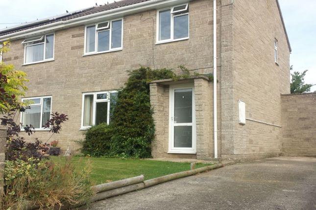 Thumbnail Semi-detached house to rent in Woodhayes, Henstridge, Somerset