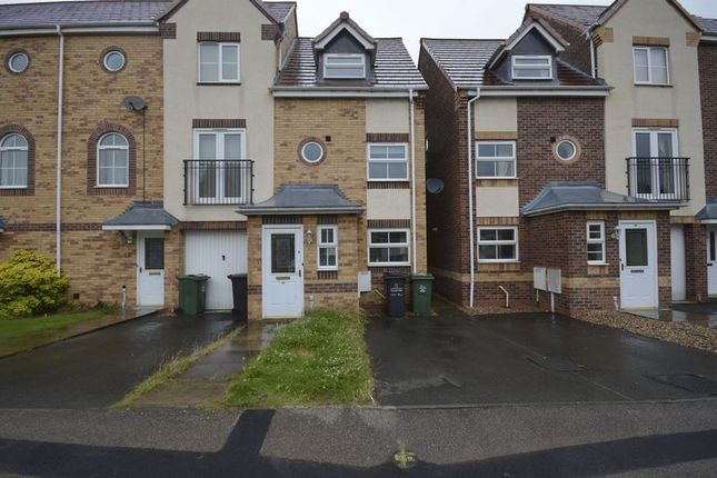 Thumbnail Terraced house to rent in Goods Yard Close, Loughborough