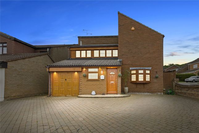 Thumbnail Detached house for sale in The Durdans, Langdon Hills, Essex