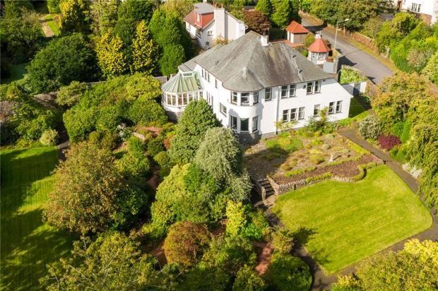Thumbnail Detached house for sale in Enterkin, Glencairn Road, Kilmacolm, Inverclyde