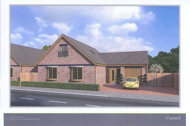 Thumbnail Detached bungalow for sale in Glanfryn Court, Drefach, Llanelli