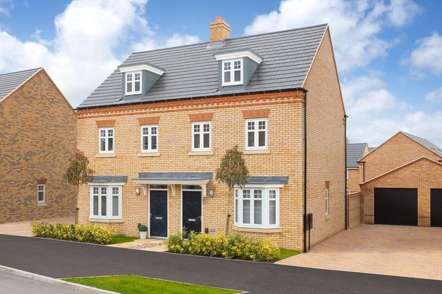 "Thumbnail Semi-detached house for sale in ""Kennett"" at Southern Cross, Wixams, Bedford"