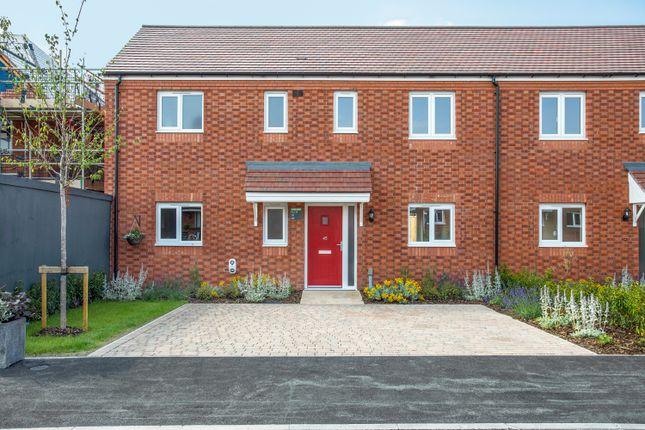 3 bedroom semi-detached house for sale in The Knighton At Birnam Mews, Oak Road, Tiddington, Warwickshire