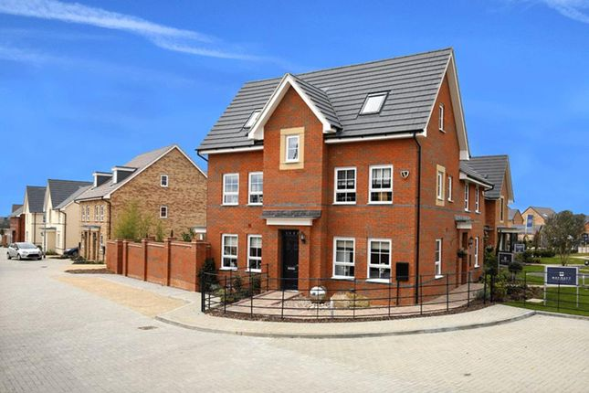 "Thumbnail Semi-detached house for sale in ""Hexham"" at Fen Street, Brooklands, Milton Keynes"