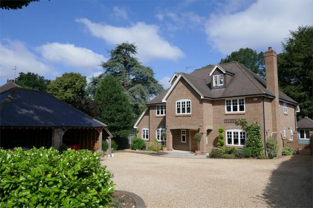 Thumbnail Detached house for sale in Portesbery Road, Camberley