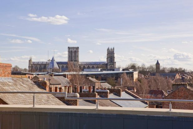 Thumbnail Flat to rent in Groves Chapel, Clarence Street, York