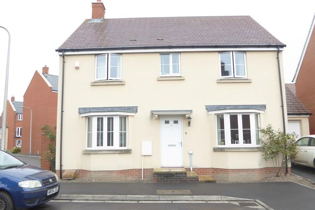 Thumbnail Detached house to rent in Birkbeck Chase, West Wick, Weston-Super-Mare