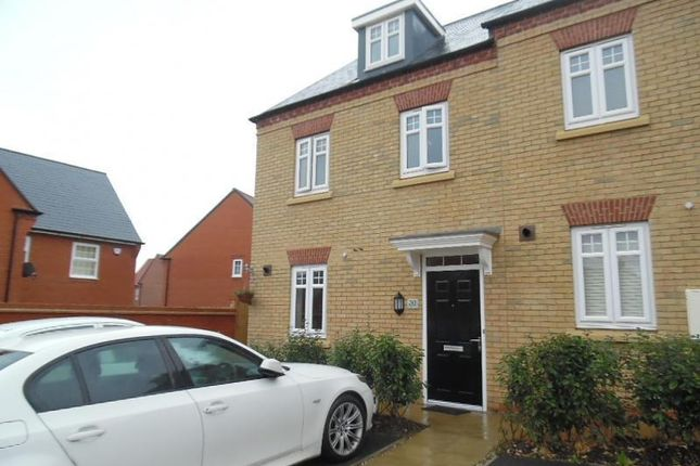 Thumbnail Town house to rent in Threads Lane, Buckingham