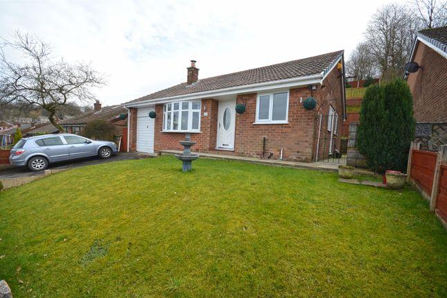 Thumbnail Detached bungalow for sale in Chestnut Close, Stalybridge