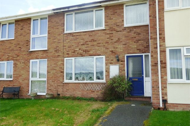 Thumbnail Terraced house for sale in Brimmon Close, Newtown, Powys