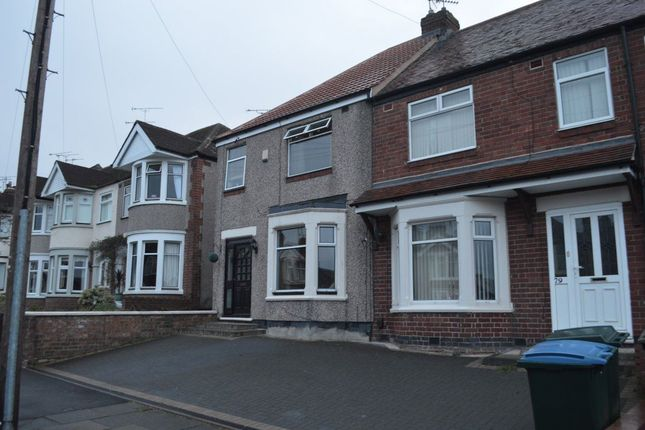 Thumbnail Terraced house to rent in Dickens Road, Keresley, Coventry