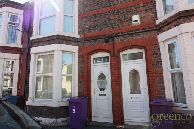 Thumbnail Terraced house to rent in Palace Road, Walton, Liverpool