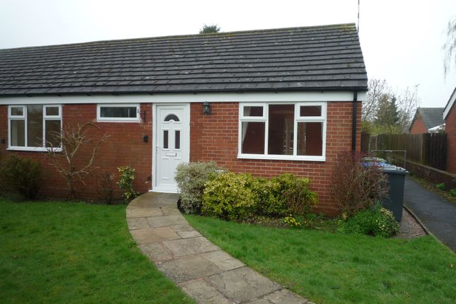 Thumbnail Semi-detached bungalow for sale in Riverside Gardens, Henley In Arden