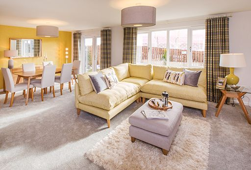 """Thumbnail Terraced house for sale in """"Bennachie Mid"""" at Fairley Road, Kingswells, Aberdeen"""