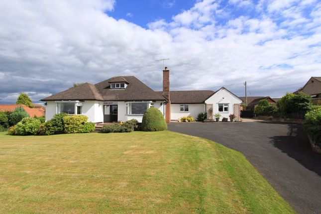 Thumbnail Detached bungalow for sale in Newcastle Road, Ashley, Market Drayton