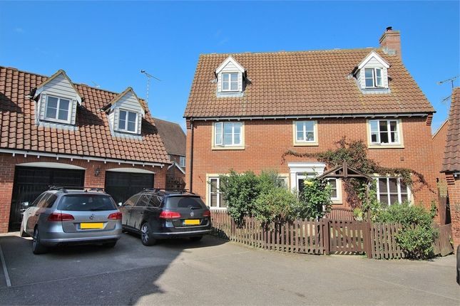 Thumbnail Detached house for sale in Flitch Green, Little Dunmow, Great Dunmow, Essex
