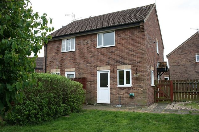 Thumbnail Semi-detached house to rent in Blackthorn Close, Thetford