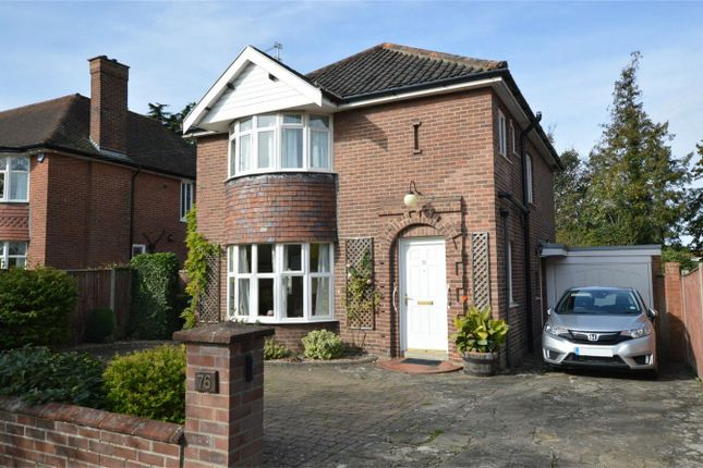 Thumbnail Detached house for sale in Grove Walk, Norwich, Norfolk