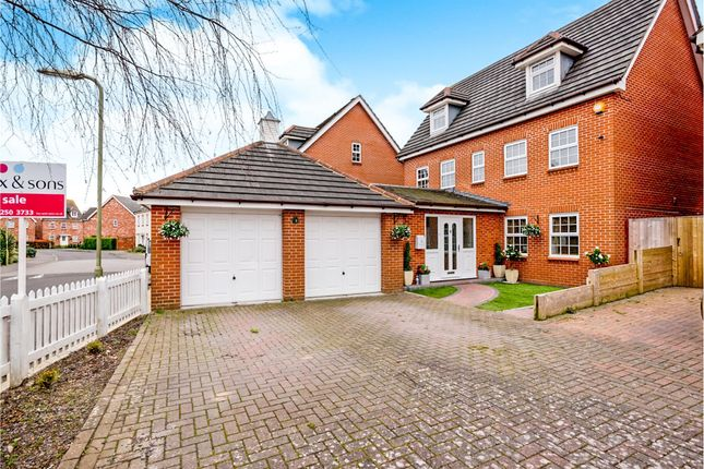Thumbnail Detached house for sale in Charlotte Drive, Priddys Hard, Gosport