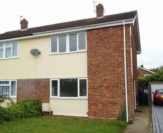 Thumbnail Semi-detached house to rent in Miles Close, Colchester, Essex