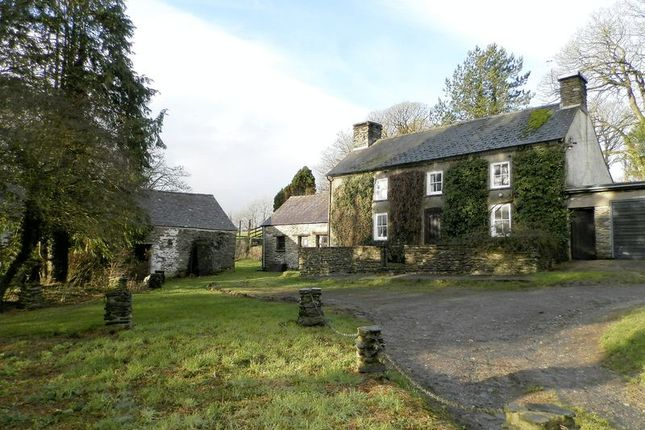 Thumbnail Farmhouse for sale in Penrherber, Newcastle Emlyn
