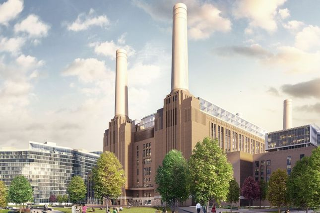 Thumbnail Town house for sale in Switch House West, Battersea Power Station, Battersea Power Station