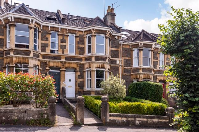 Thumbnail Terraced house for sale in Longfellow Avenue, Bath