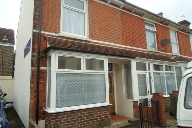 Thumbnail End terrace house to rent in Lynn Road, Portsmouth