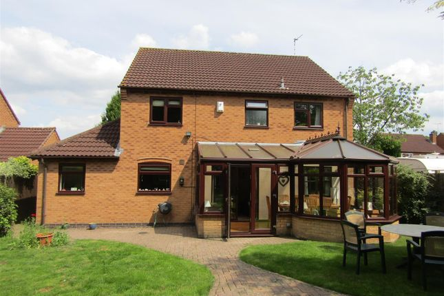Thumbnail Detached house for sale in Borrowcup Close, Countesthorpe, Leicester