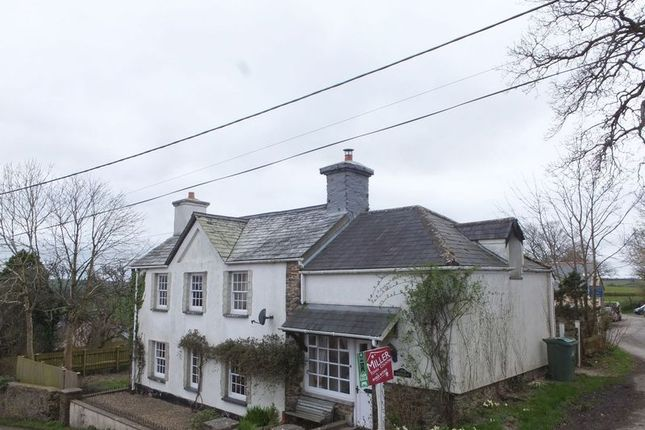 Thumbnail Detached house for sale in Broadwoodwidger, Lifton
