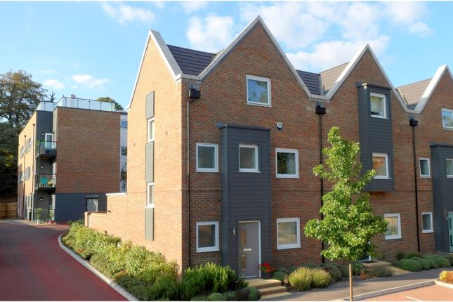 Thumbnail End terrace house for sale in Kingfisher Drive, Camberley