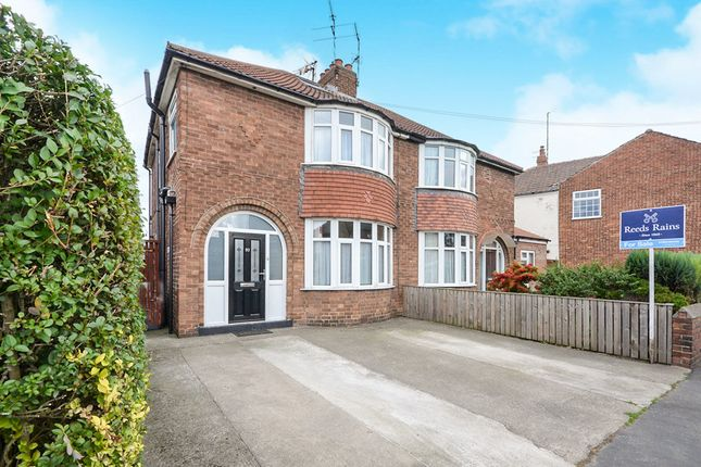 Thumbnail Semi-detached house for sale in Hull Road, York
