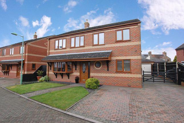 Thumbnail Detached house for sale in Sanctuary Close, Kessingland, Lowestoft