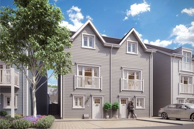 Thumbnail Semi-detached house for sale in Longwater Avenue, Green Park, Reading