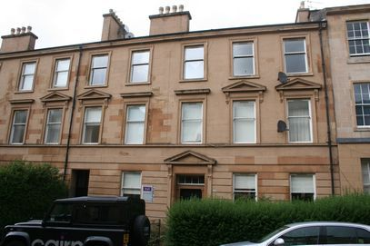 Thumbnail Flat to rent in Buccleuch Street, Glasgow