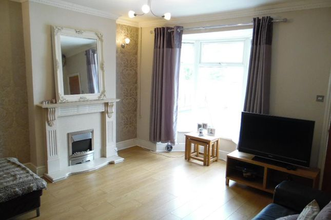 Thumbnail End terrace house to rent in Hawarden Place, Troedyrhiw, Merthyr Tydfil