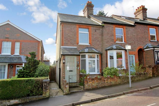 Thumbnail End terrace house for sale in Cemetery Hill, Boxmoor, Hertfordshire