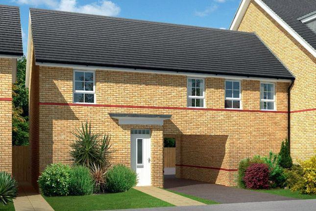 "Thumbnail Duplex for sale in ""Aylsham"" at Drake Avenue, Peterborough"