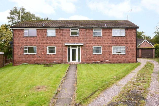 Thumbnail Block of flats for sale in Crossfield Avenue, Blythe Bridge
